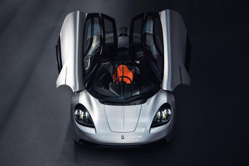 GMA T.50 debuts – true McLaren F1 successor with 3.9L NA V12, 12,100 rpm redline, 986 kg; RM13 million! Image #1155308