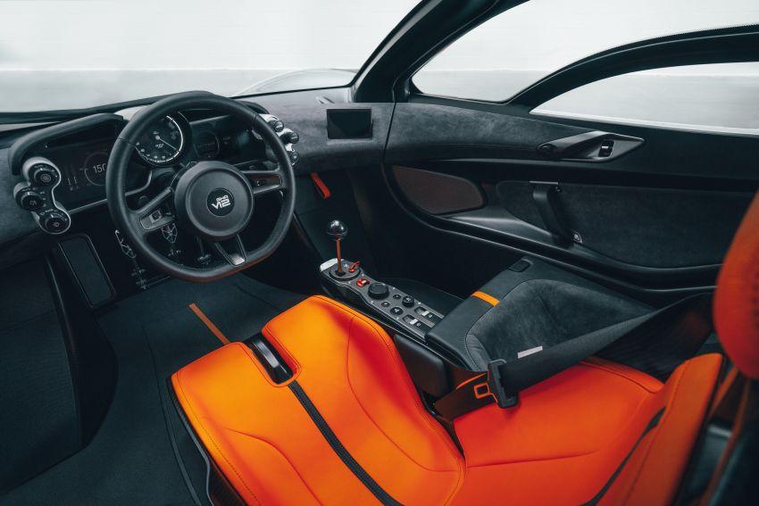 GMA T.50 debuts – true McLaren F1 successor with 3.9L NA V12, 12,100 rpm redline, 986 kg; RM13 million! Image #1155279