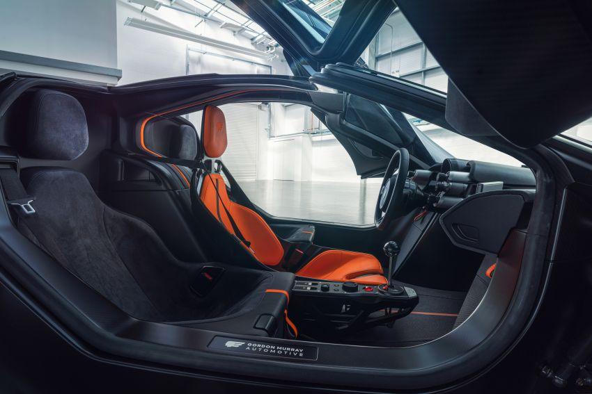 GMA T.50 debuts – true McLaren F1 successor with 3.9L NA V12, 12,100 rpm redline, 986 kg; RM13 million! Image #1155285