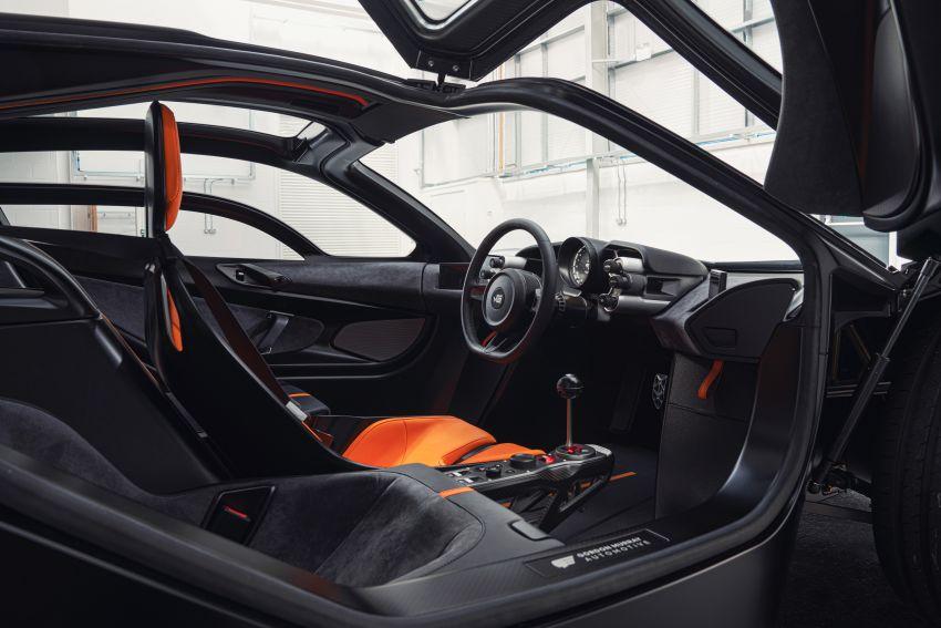 GMA T.50 debuts – true McLaren F1 successor with 3.9L NA V12, 12,100 rpm redline, 986 kg; RM13 million! Image #1155286