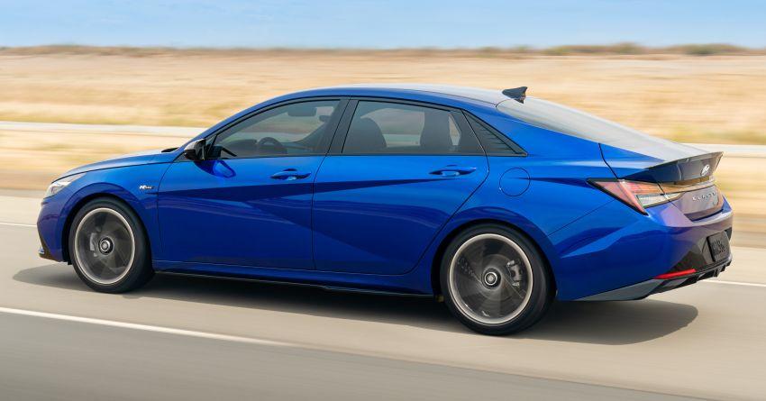 2021 Hyundai Elantra N Line – 1.6T, 201 hp, 264 Nm! Image #1160256