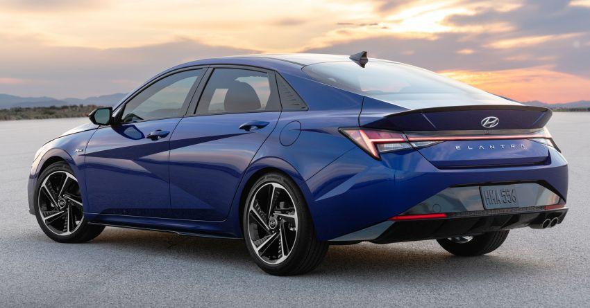 2021 Hyundai Elantra N Line – 1.6T, 201 hp, 264 Nm! Image #1160264