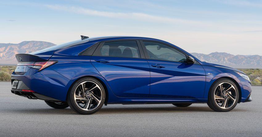 2021 Hyundai Elantra N Line – 1.6T, 201 hp, 264 Nm! Image #1160268