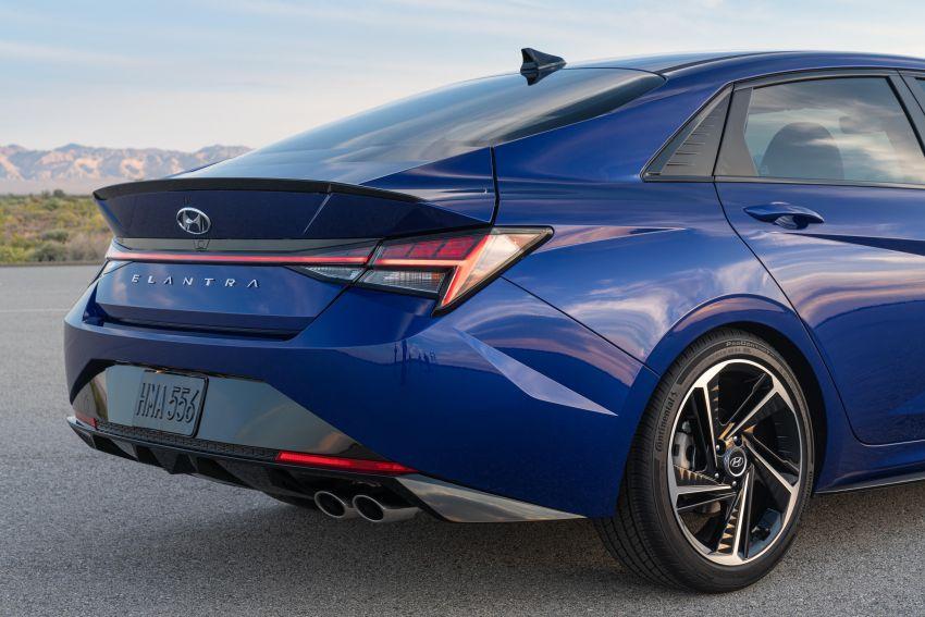 2021 Hyundai Elantra N Line – 1.6T, 201 hp, 264 Nm! Image #1160269