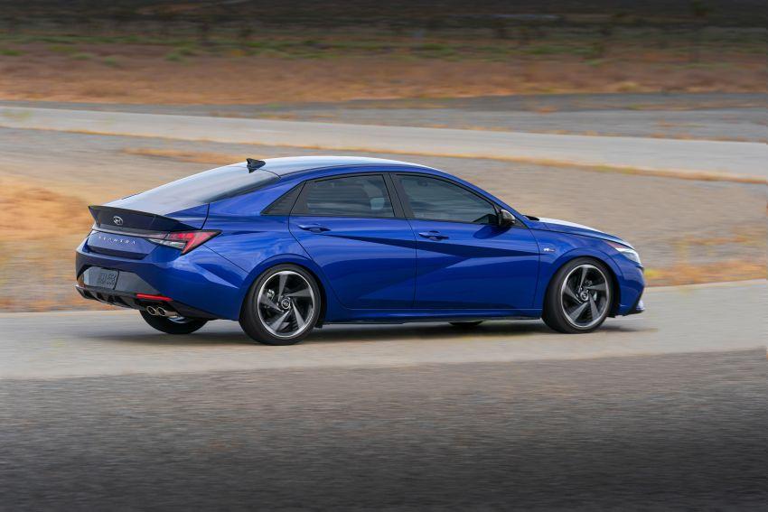 2021 Hyundai Elantra N Line – 1.6T, 201 hp, 264 Nm! Image #1160271