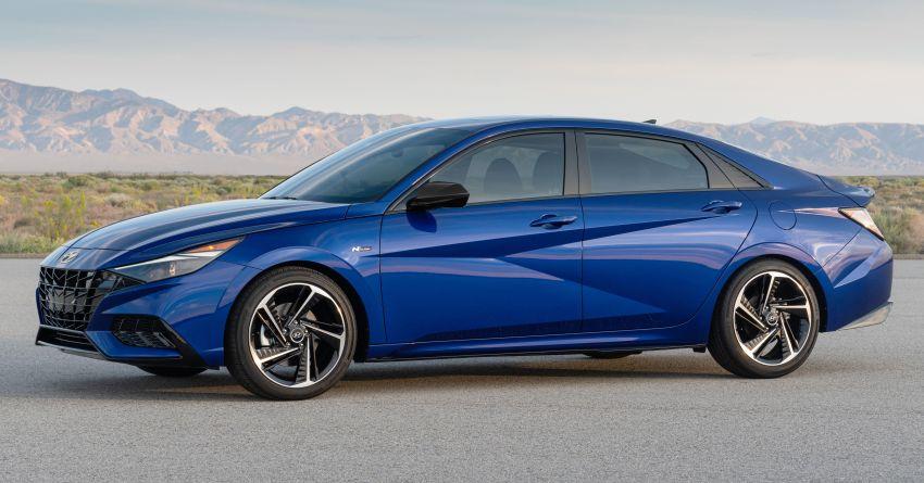 2021 Hyundai Elantra N Line – 1.6T, 201 hp, 264 Nm! Image #1160272