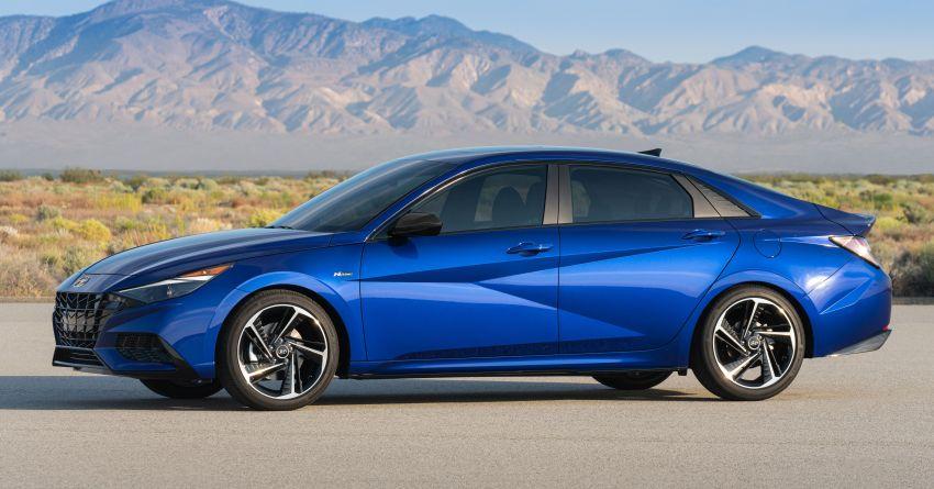 2021 Hyundai Elantra N Line – 1.6T, 201 hp, 264 Nm! Image #1160275