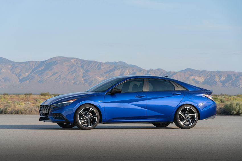 2021 Hyundai Elantra N Line – 1.6T, 201 hp, 264 Nm! Image #1160276
