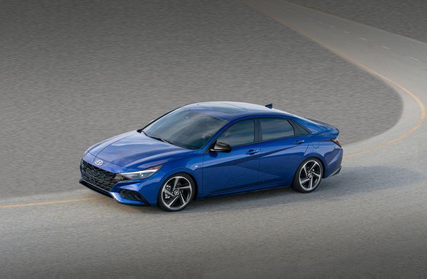 2021 Hyundai Elantra N Line – 1.6T, 201 hp, 264 Nm! Image #1160277