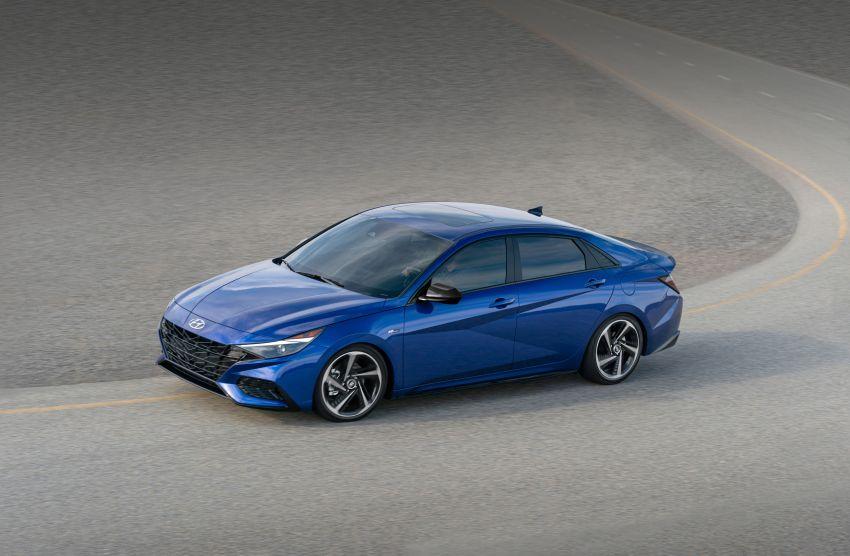2021 Hyundai Elantra N Line – 1.6T, 201 hp, 264 Nm! Image #1160278