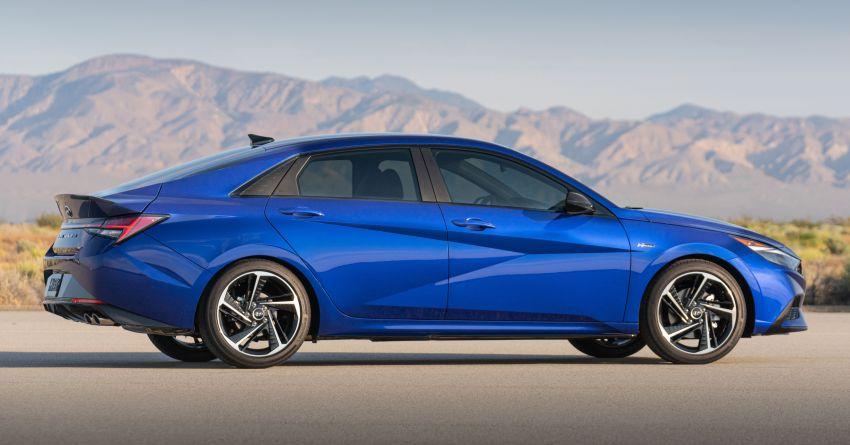 2021 Hyundai Elantra N Line – 1.6T, 201 hp, 264 Nm! Image #1160279