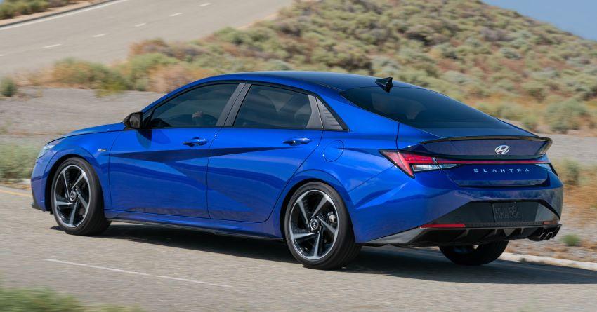 2021 Hyundai Elantra N Line – 1.6T, 201 hp, 264 Nm! Image #1160286
