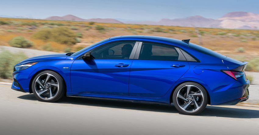 2021 Hyundai Elantra N Line – 1.6T, 201 hp, 264 Nm! Image #1160287