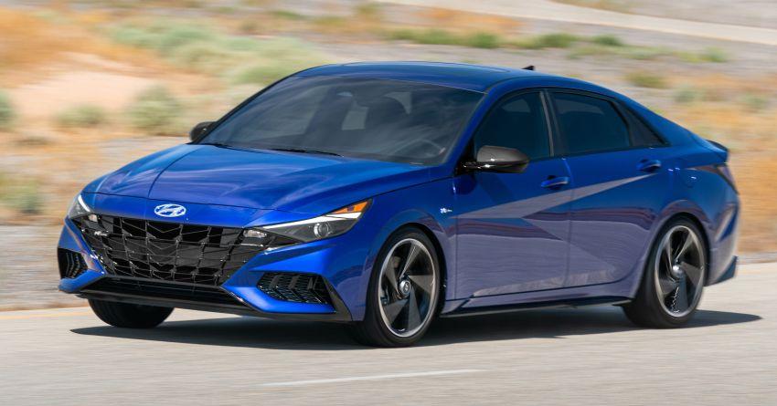 2021 Hyundai Elantra N Line – 1.6T, 201 hp, 264 Nm! Image #1160288
