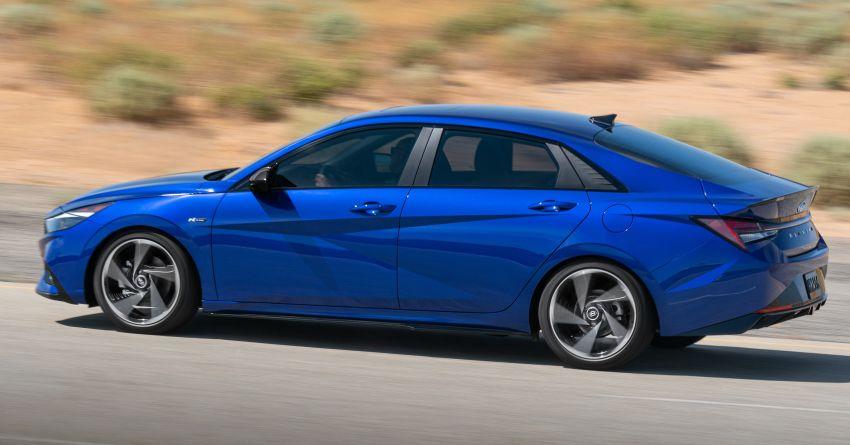 2021 Hyundai Elantra N Line – 1.6T, 201 hp, 264 Nm! Image #1160289