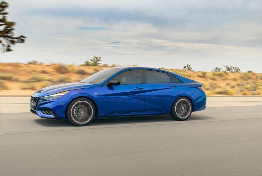 2021 Hyundai Elantra N Line – 1.6T, 201 hp, 264 Nm! Image #1160250