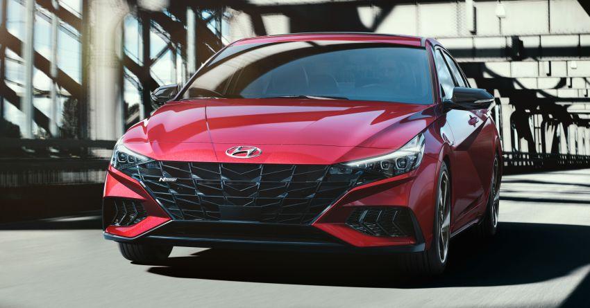 2021 Hyundai Elantra N Line – 1.6T, 201 hp, 264 Nm! Image #1160298