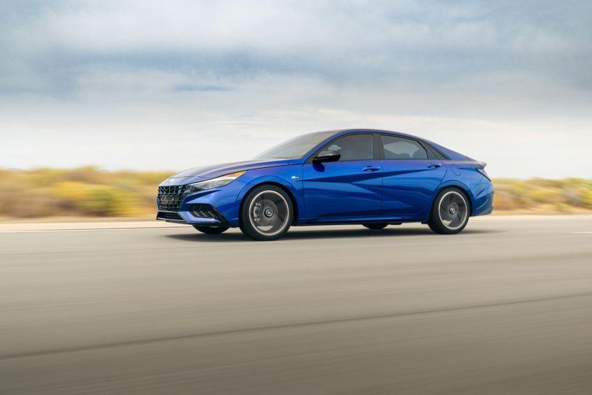 2021 Hyundai Elantra N Line – 1.6T, 201 hp, 264 Nm! Image #1160251