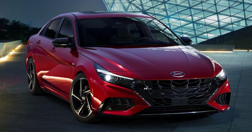 2021 Hyundai Elantra N Line – 1.6T, 201 hp, 264 Nm! Image #1160300