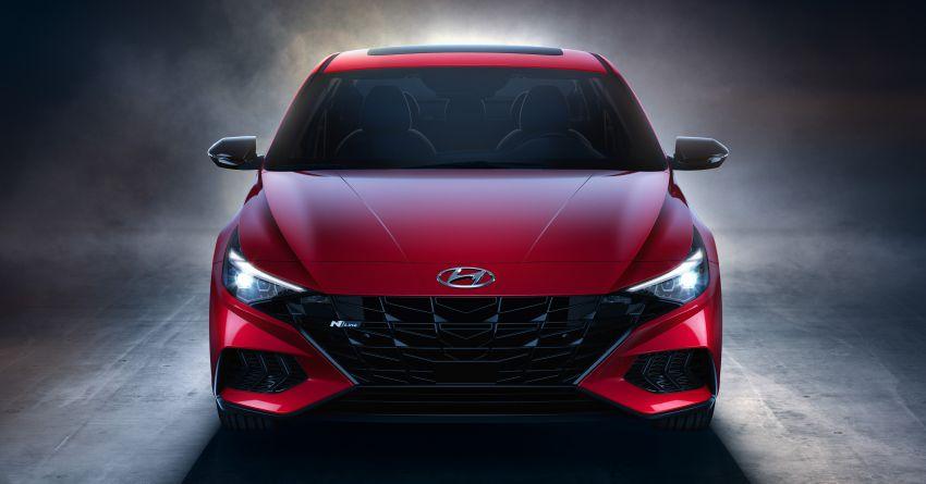 2021 Hyundai Elantra N Line – 1.6T, 201 hp, 264 Nm! Image #1160301