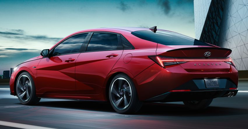 2021 Hyundai Elantra N Line – 1.6T, 201 hp, 264 Nm! Image #1160303