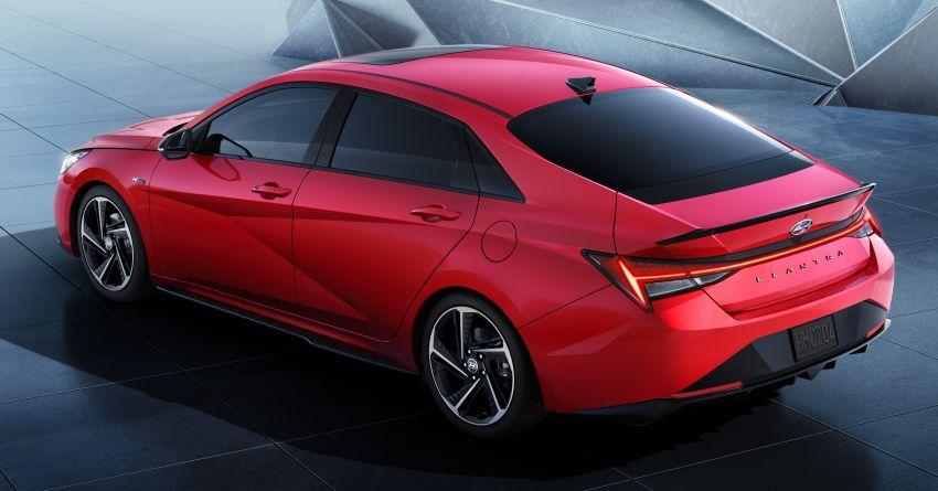 2021 Hyundai Elantra N Line – 1.6T, 201 hp, 264 Nm! Image #1160304