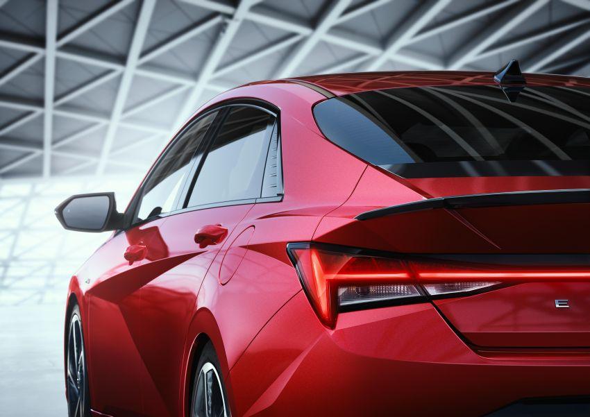 2021 Hyundai Elantra N Line – 1.6T, 201 hp, 264 Nm! Image #1160305
