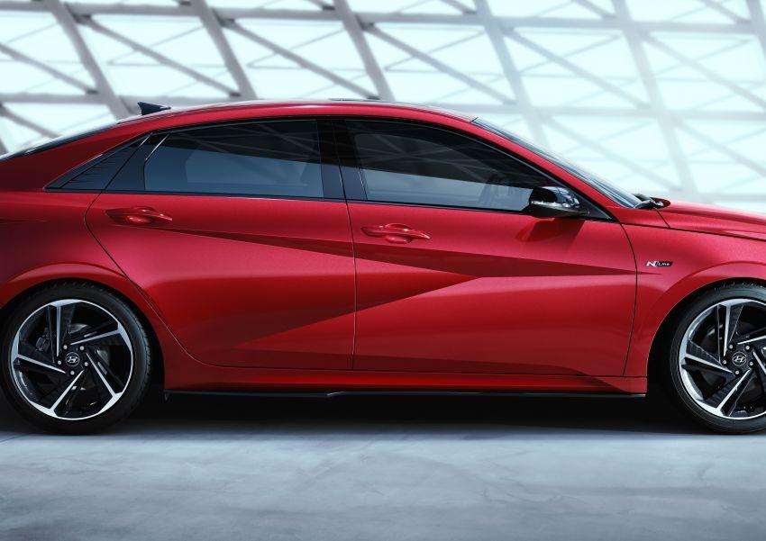 2021 Hyundai Elantra N Line – 1.6T, 201 hp, 264 Nm! Image #1160306