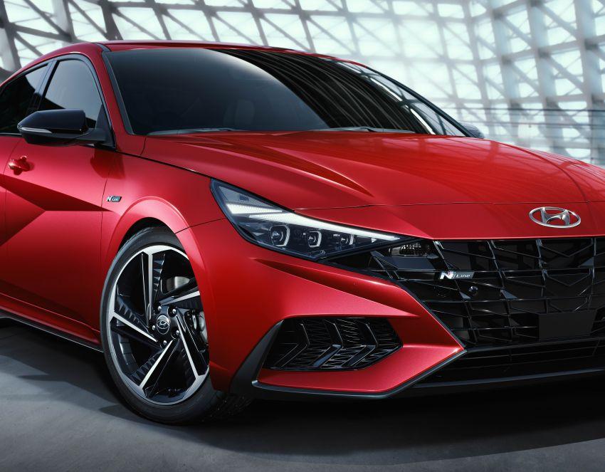 2021 Hyundai Elantra N Line – 1.6T, 201 hp, 264 Nm! Image #1160307