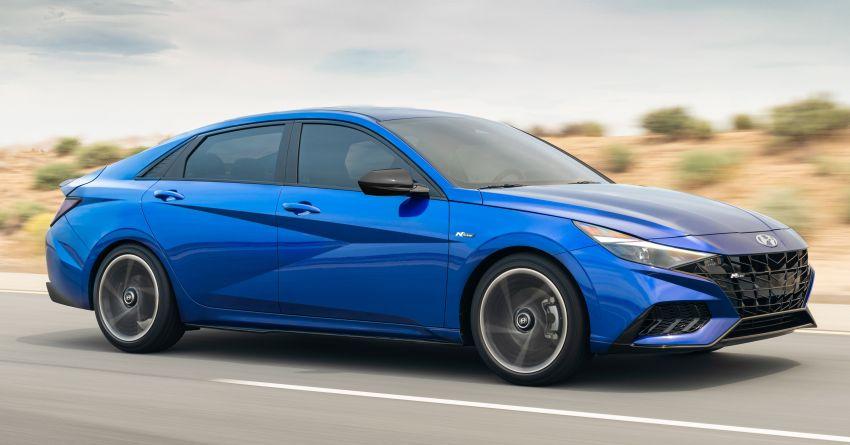 2021 Hyundai Elantra N Line – 1.6T, 201 hp, 264 Nm! Image #1160252