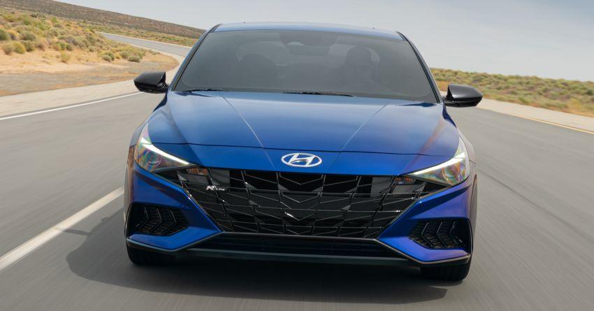 2021 Hyundai Elantra N Line – 1.6T, 201 hp, 264 Nm! Image #1160253