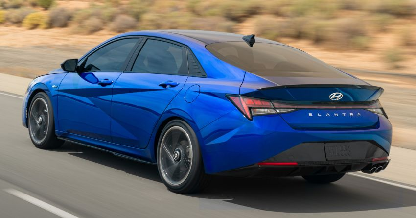 2021 Hyundai Elantra N Line – 1.6T, 201 hp, 264 Nm! Image #1160255