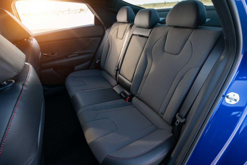 2021 Hyundai Elantra N Line – 1.6T, 201 hp, 264 Nm! Image #1160236