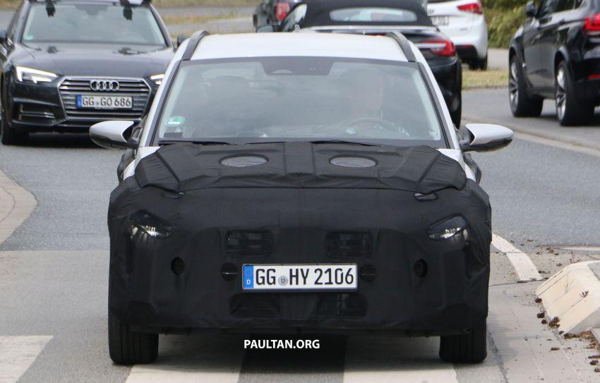 SPYSHOTS: 2021 Hyundai 'i20 Active' spotted on test Image #1159552