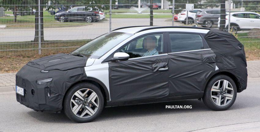 SPYSHOTS: 2021 Hyundai 'i20 Active' spotted on test Image #1159540