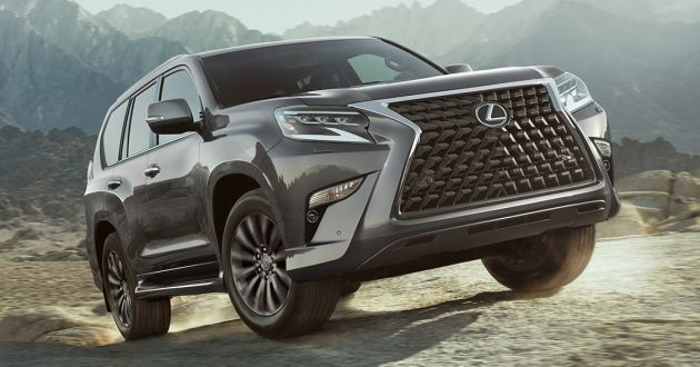 2021 lexus gx 460 receives updated kit list in the us