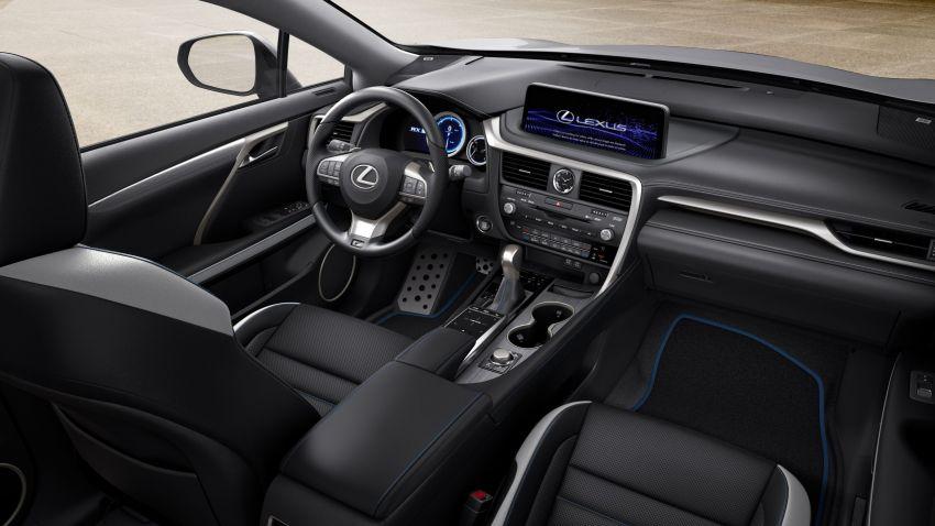 2021 Lexus RX Black Line – special edition, 1,000 units Image #1167272