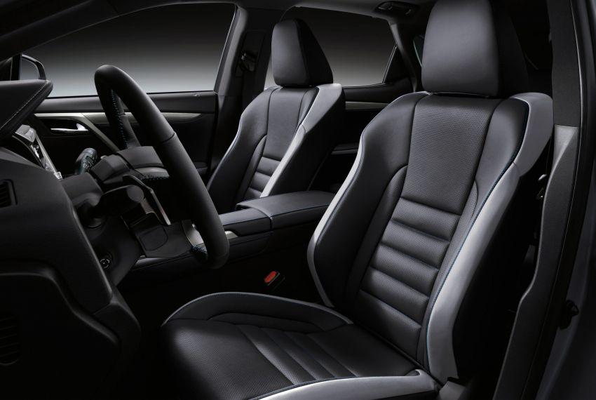 2021 Lexus RX Black Line – special edition, 1,000 units Image #1167276