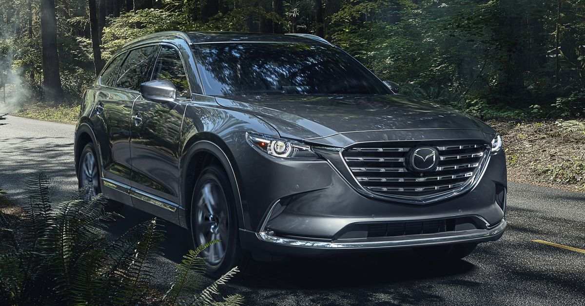 2021 mazda cx-9 launched in the us - three-row suv gets 10