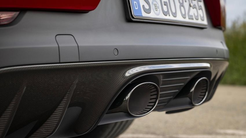 Porsche reveals new exhaust for Cayenne GTS Coupé Image #1160646
