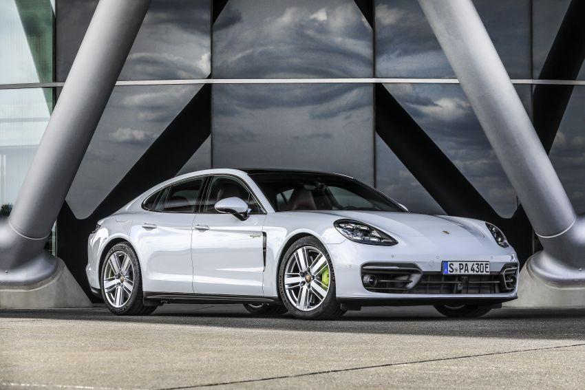 2020 Porsche Panamera facelift – 630 PS/820 Nm Turbo S; PHEV 4S E-Hybrid with 54 km electric range Image #1167494