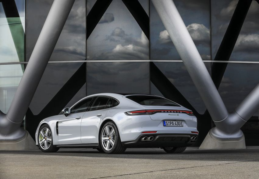 2020 Porsche Panamera facelift – 630 PS/820 Nm Turbo S; PHEV 4S E-Hybrid with 54 km electric range Image #1167495