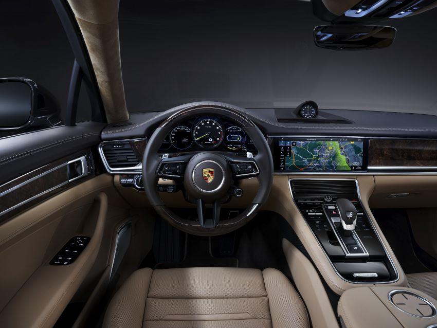 2020 Porsche Panamera facelift – 630 PS/820 Nm Turbo S; PHEV 4S E-Hybrid with 54 km electric range Image #1167487