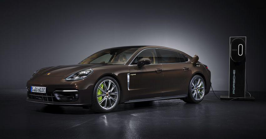 2020 Porsche Panamera facelift – 630 PS/820 Nm Turbo S; PHEV 4S E-Hybrid with 54 km electric range Image #1167501
