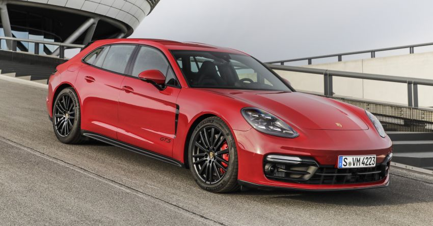 2020 Porsche Panamera facelift – 630 PS/820 Nm Turbo S; PHEV 4S E-Hybrid with 54 km electric range Image #1167397