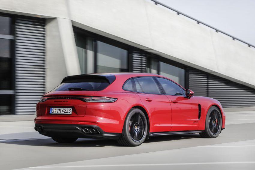 2020 Porsche Panamera facelift – 630 PS/820 Nm Turbo S; PHEV 4S E-Hybrid with 54 km electric range Image #1167465
