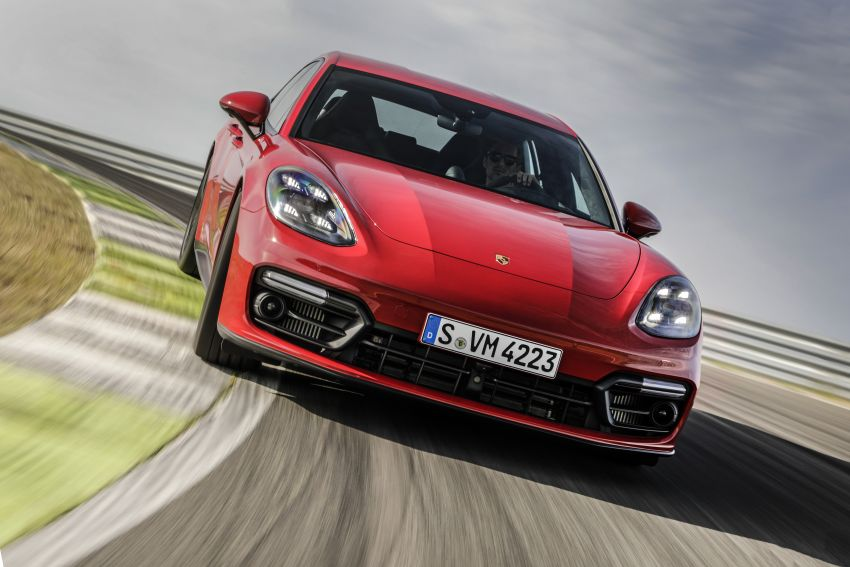 2020 Porsche Panamera facelift – 630 PS/820 Nm Turbo S; PHEV 4S E-Hybrid with 54 km electric range Image #1167466