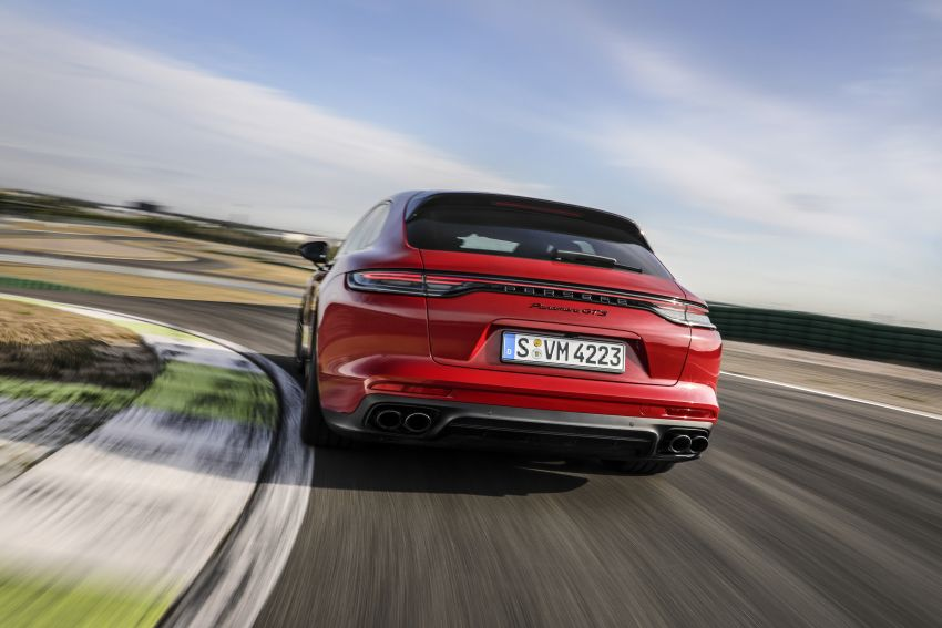 2020 Porsche Panamera facelift – 630 PS/820 Nm Turbo S; PHEV 4S E-Hybrid with 54 km electric range Image #1167467