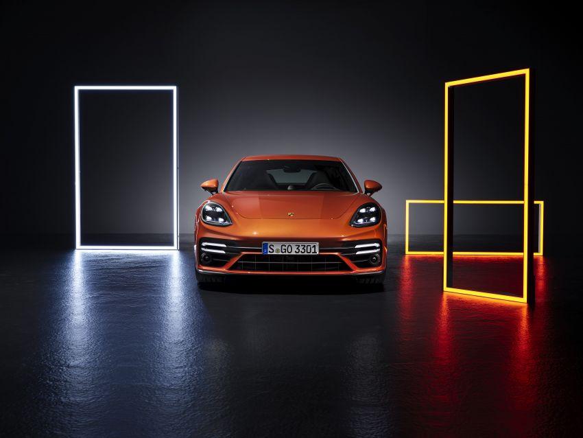 2020 Porsche Panamera facelift – 630 PS/820 Nm Turbo S; PHEV 4S E-Hybrid with 54 km electric range Image #1167477