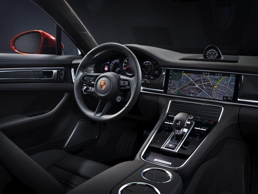2020 Porsche Panamera facelift – 630 PS/820 Nm Turbo S; PHEV 4S E-Hybrid with 54 km electric range Image #1167412